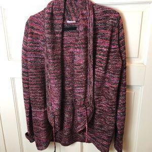Columbia Burgandy Cardigan Sweater (M)
